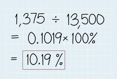 Comment calculer un pourcentage ?